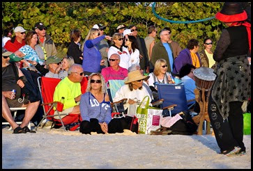 01b - Venice Drum Circle - seats near the front row