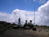 Ungaran summit monuments (Daniel Quinn, March 2010)