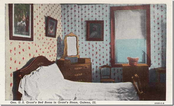 General U.S. Grant's Bedroom in Grant's Home - Galena, Illinois pg. 1