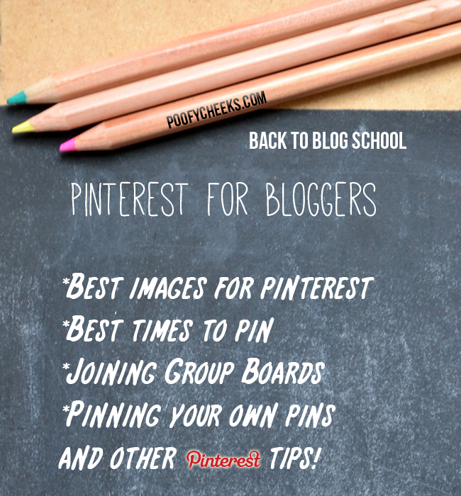 Back to Blog School: Pinterest Tips for Bloggers