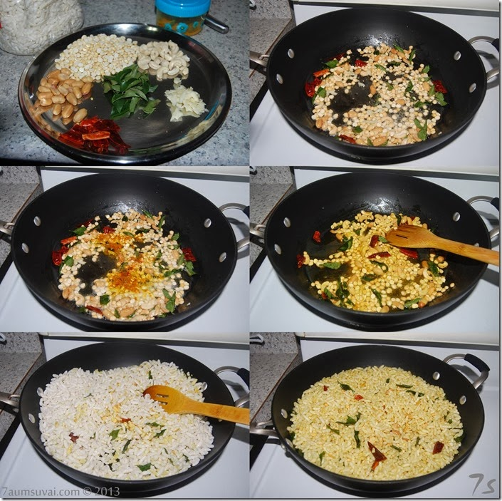 Pori mixture or kara pori process