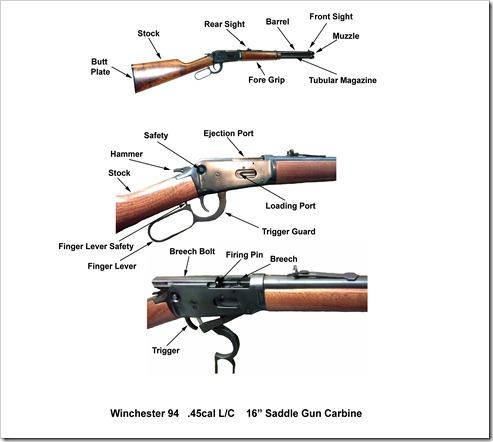 Winchester 94 LC Saddle Gun Carbine