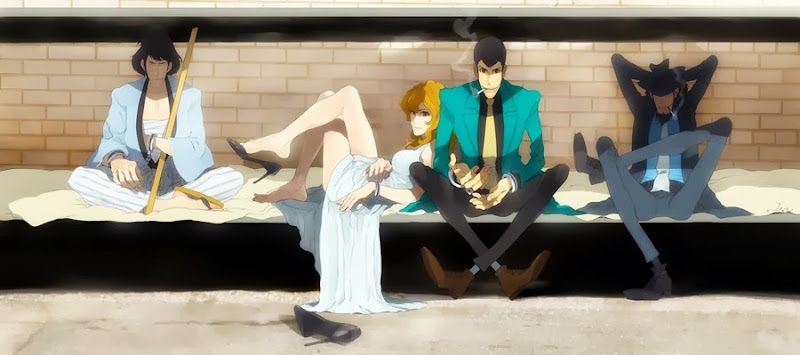 Lupin III anime-live-action