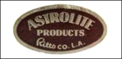 Astrolite Products label
