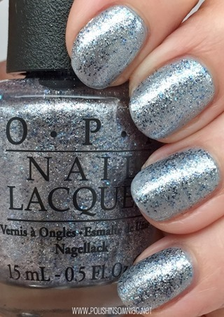 OPI Shine For Me (over Cement the Deal)