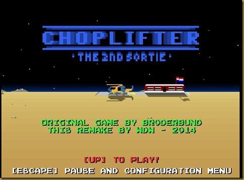 Choplifter 2nd sortie
