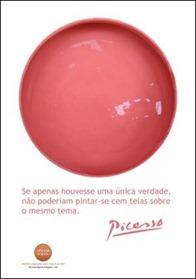 Cartaz Rosa Picasso