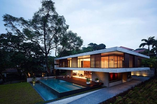 Arquitectura y feng shui casa jkc1 arquitectos ong ong singapur arquitexs - Arquitectura y feng shui ...