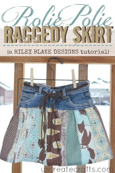 Rolie Polie Raggedy Skirt Tutorial