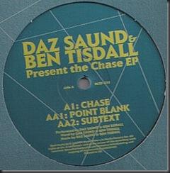 Daz Saund & Ben Tisdall - The Chase EP $199