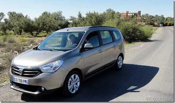 Dacia Lodgy testdagen 12