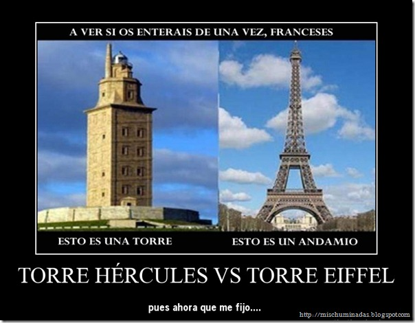 torre eiffel es un andamio