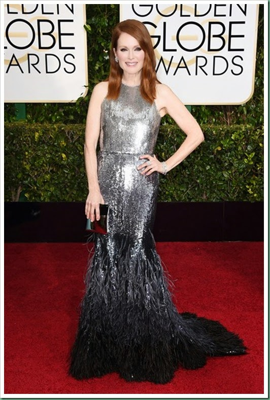 julianne-moore in Givenchy couture
