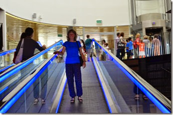 17 deb on travelator in library
