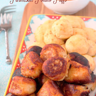 Parmesan Potato Puffs