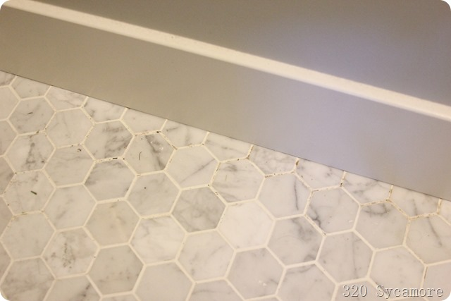 yucky bathroom tile