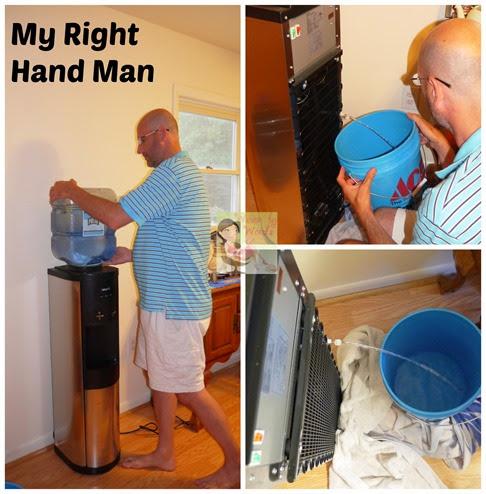 Flushing Water Dispenser