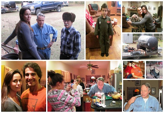 bob's party collage
