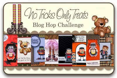 No Tricks Only Treats Blog Hop Challenge