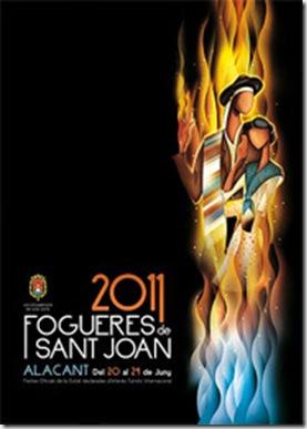 cartel Hogueras 2011