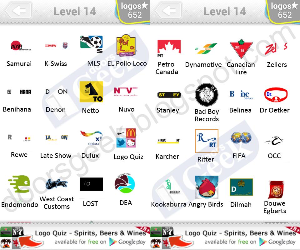 Logos Walkthrough for Logos Quiz Game Par Apperleft Ltd