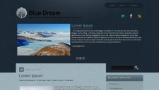 Blue dream blogger template 225x128