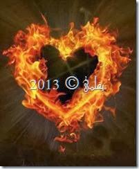 في القلب حريق