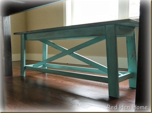 Kim's Farmhouse Table 004
