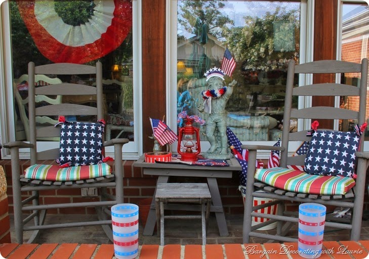 4th of July Porch 1