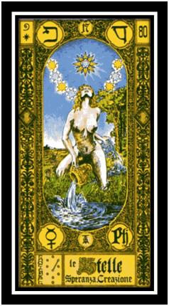 La Estrella, Tarot Tavaglione