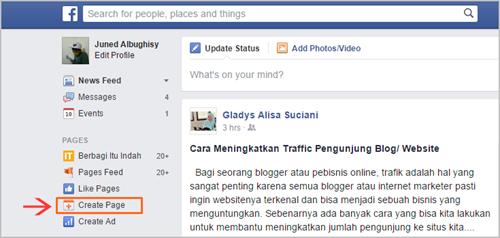 Cara Membuat Halaman FanPage Facebook 03