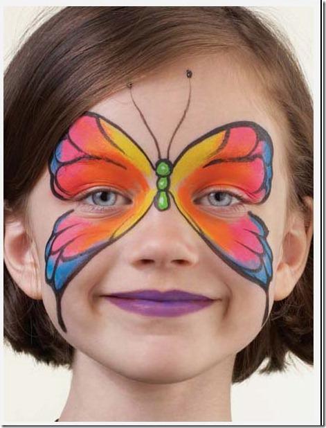 maquillaje mariposa halloween (3)