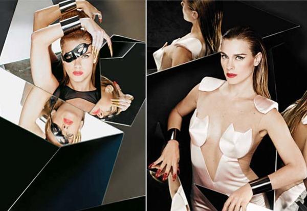 Todas as fotos da edição de Janeiro da Revista Criativa com a Carolina