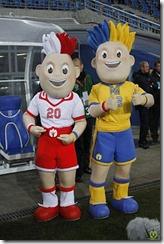 mascotas eurocopa