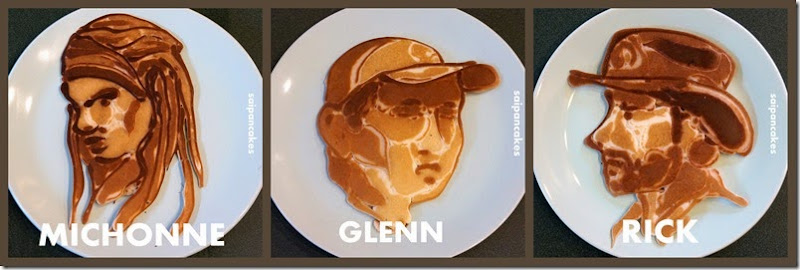 The Walking Dead pancakes