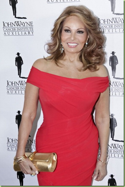 Raquel Welch at 70
