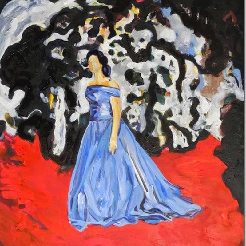 """Beat Bracher """"Brot und Blau"""" in der k25 galerie Luzern (Vernissage: 10.10.2014, ab 19:00 – 22:00 Uhr)"""