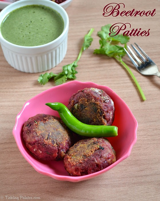 Beetroot Tikki Recipe