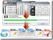 Convertire documenti di testo docx, doc, pdf, odt, wpd, rtf, txt, html con Doxillion Document Converter