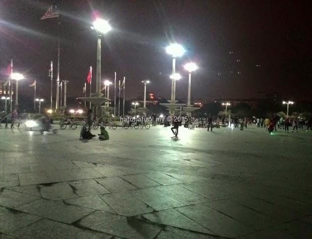 Kemeriahan Waktu Malam di Dataran Putrajaya