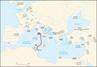 Campañas de César de Roma a Tapso-46 a. C.
