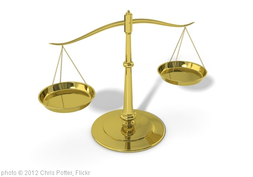 '3D Scales of Justice' photo (c) 2012, Chris Potter - license: http://creativecommons.org/licenses/by/2.0/