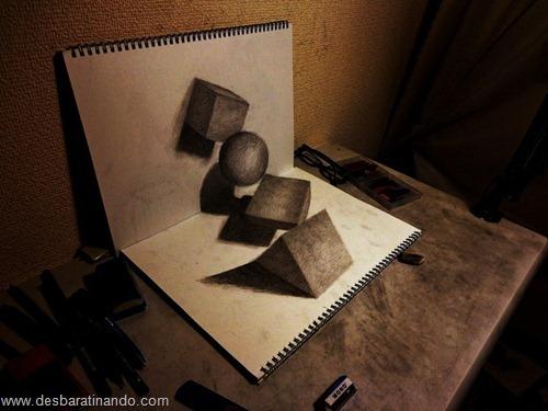 desenhos lapis 3D desbaratinando  (14)