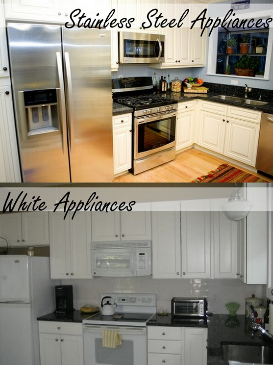 White versus SS Appliances