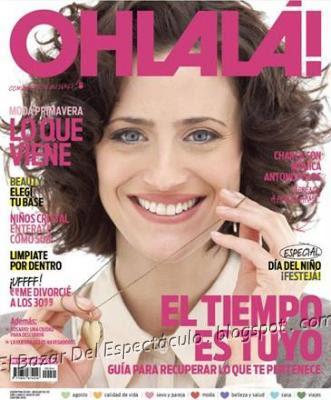 Monica antonopulos en revista ohlala agosto 2011 revista for Revistas del espectaculo