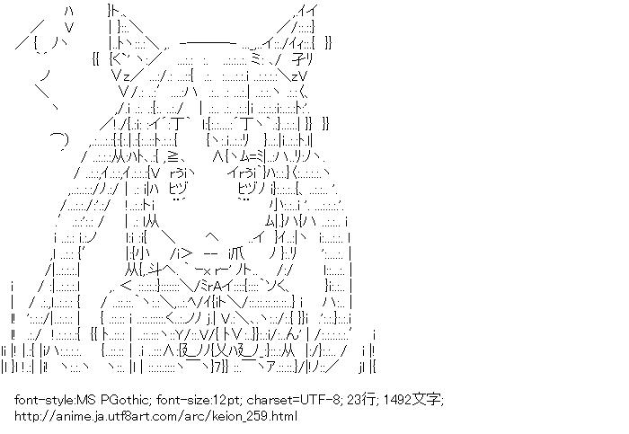 けいおん!,中野梓,猫耳