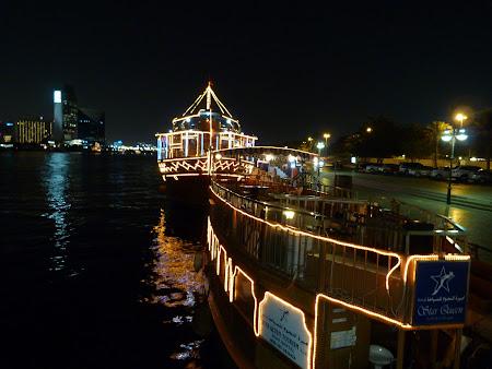 Obiective turistice Dubai: Croaziera Creek