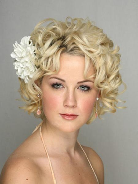 2013 Short Wedding Day Hairstyles
