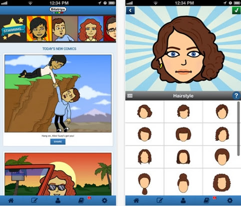 Bitstrips para iOS y Android