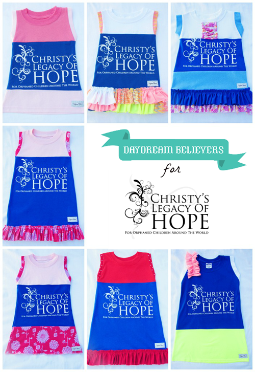 daydream believers dresses benefiting christys legacy of hope